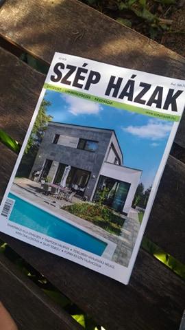 szép házak magazin